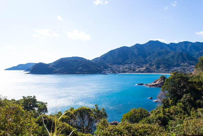 kumano kodo ocean view