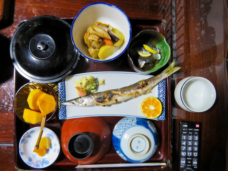 kumano kodo iseji ryokan breakfast
