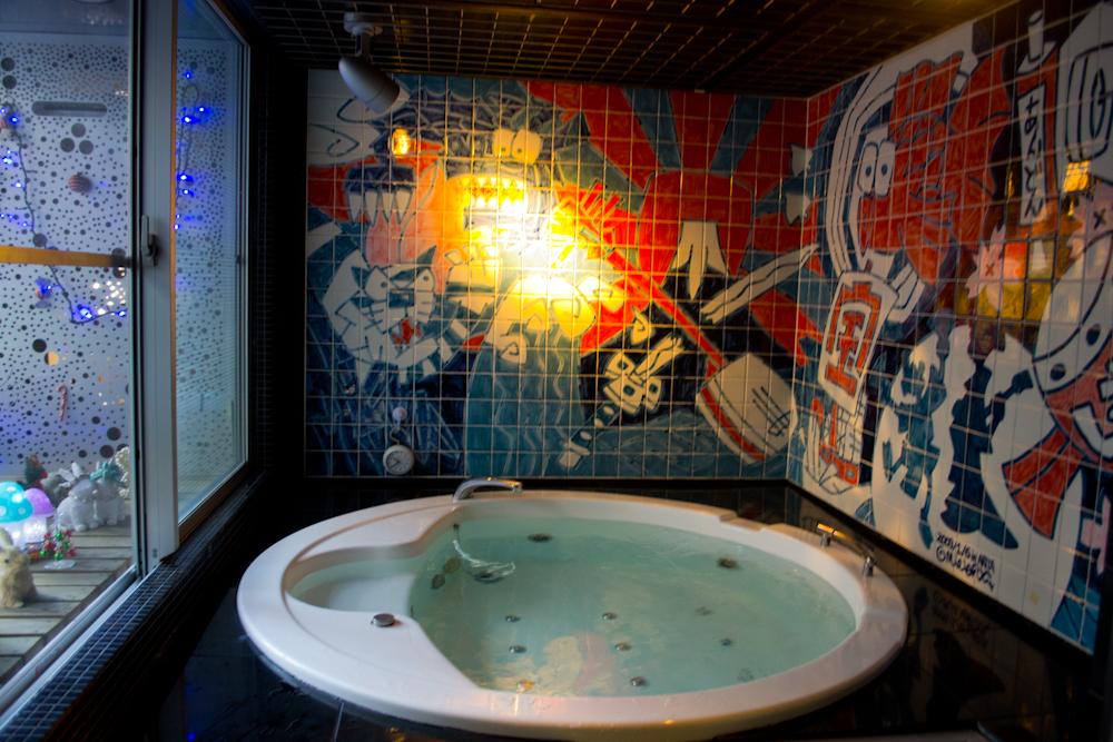 andon ryokan hot tub onsen