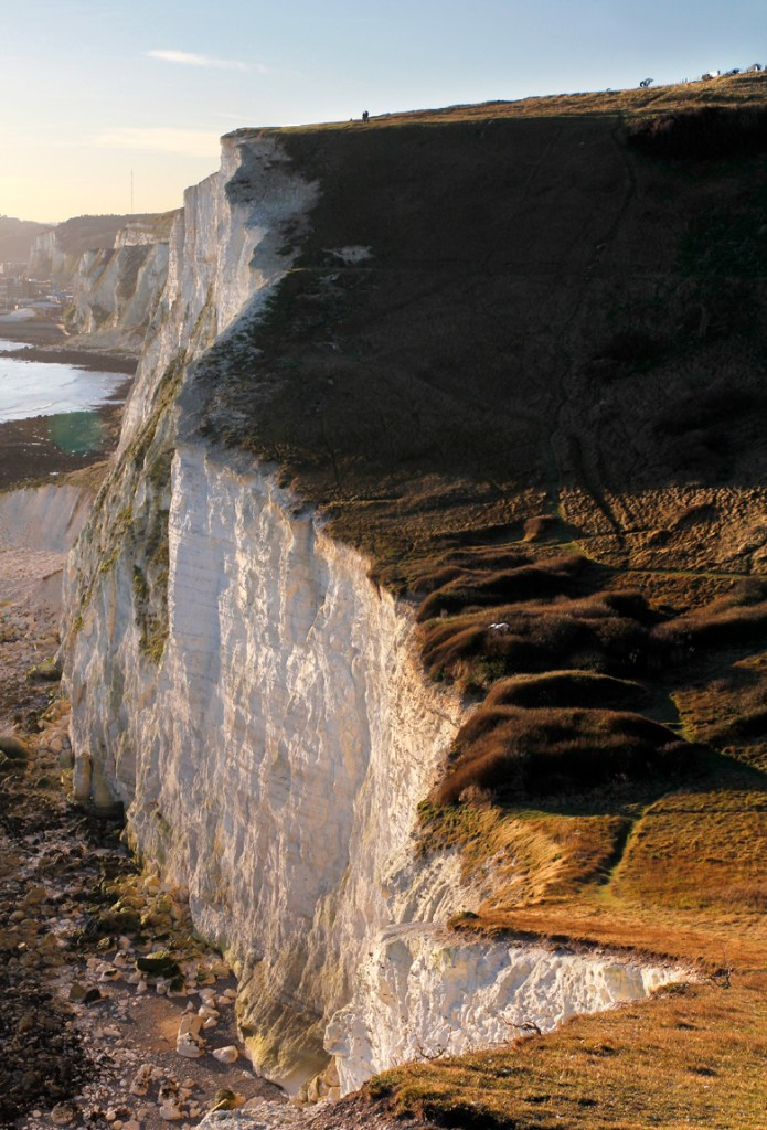 white cliffs of dover uk road trip