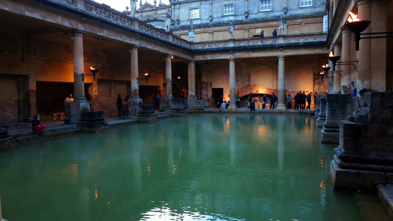 roman baths uk road trip