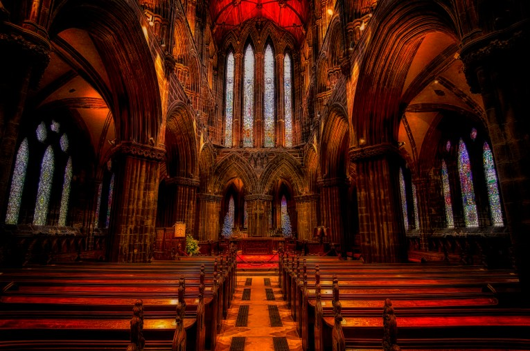 glasgow cathedral uk road trip