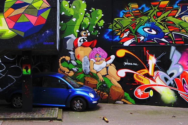 bristol street art uk road trip