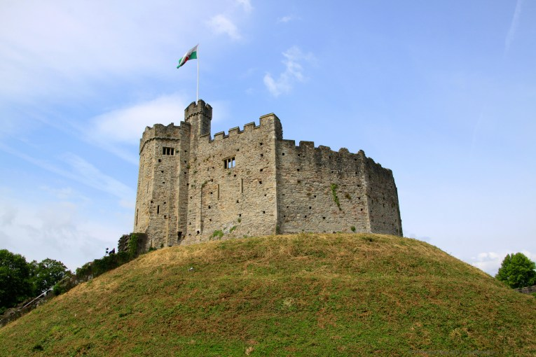 cardiff castle uk road trip