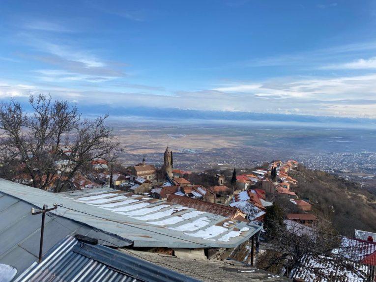 sighnaghi city view kakheti wine tour