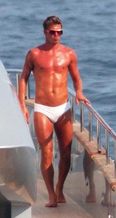 David Beckham speedo