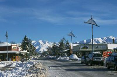 Methven,  New Zealand.  Gay ski week.