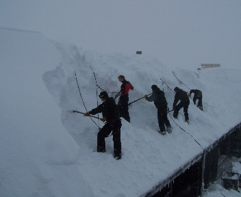 Lots of snow in New Zealand