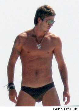 David Beckham Speedo