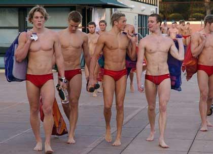 Speedo swim team