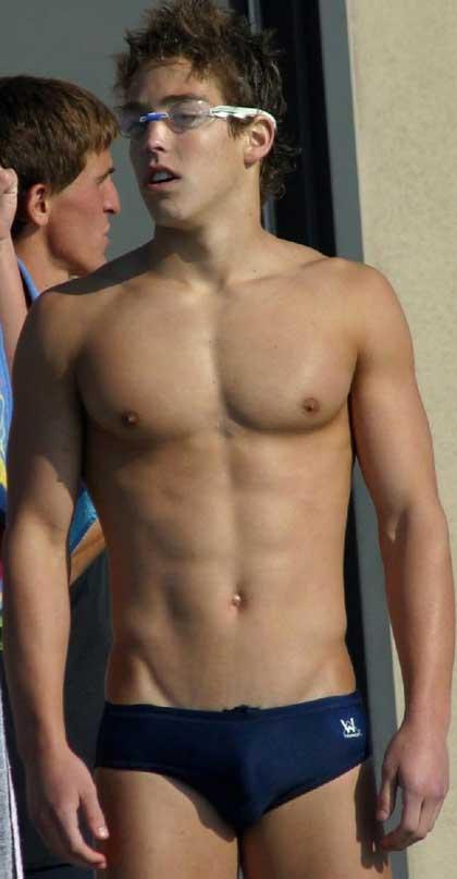 Speedo swimmer