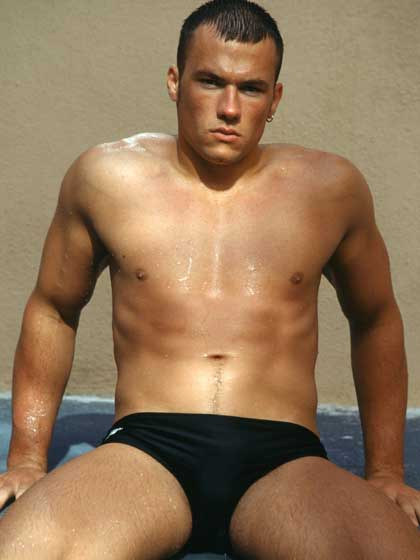 Black speedos