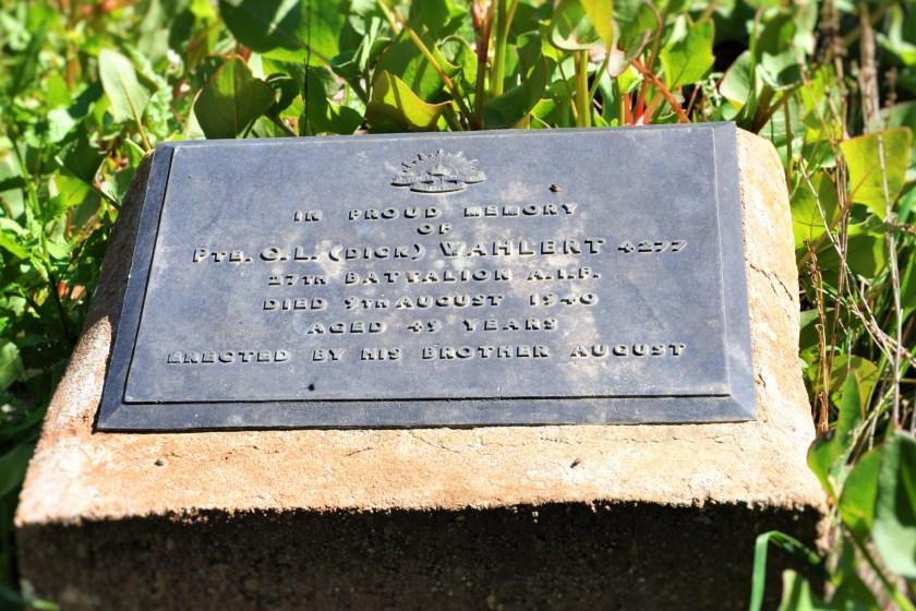 Lone Soldier Gravestone