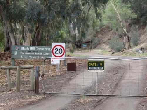 Black Hill gate 9