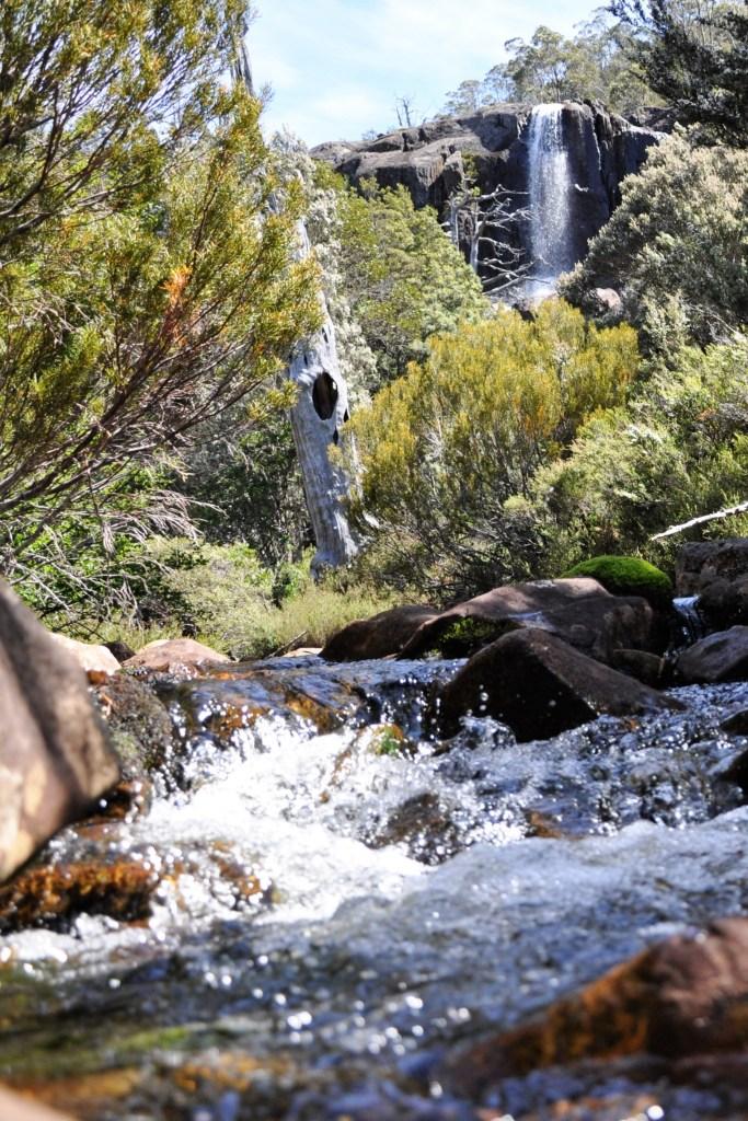 At Grail Falls