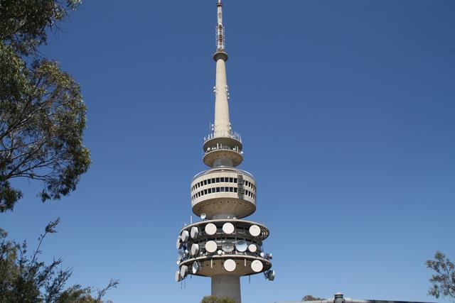Image result for Black Mountain Tower in Canberra
