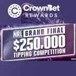 CrownBet Rewards $250,000 NRL Grand Final Tipping Comp