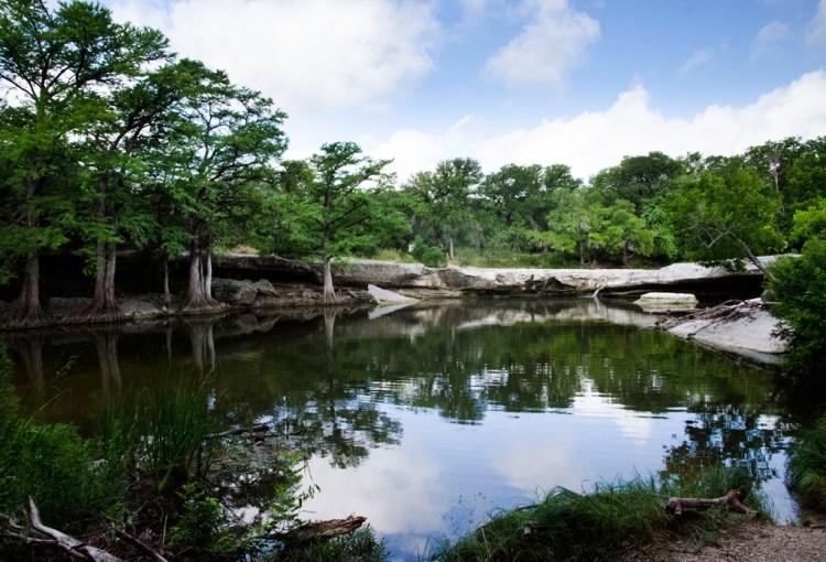 rebecca bennett mckinney falls state park