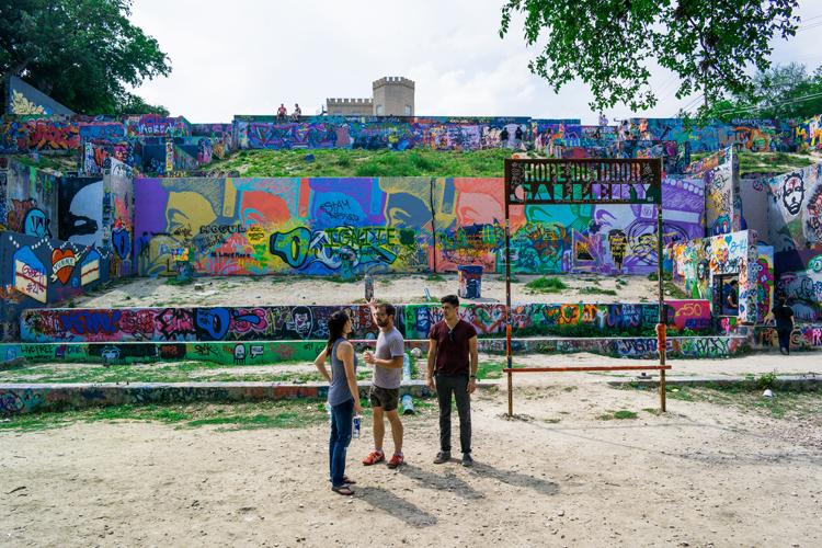 hope outdoor graffiti gallery