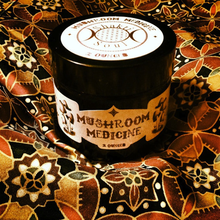 Detoxify those lymph nodes with this $15 mushroom medicine salve.