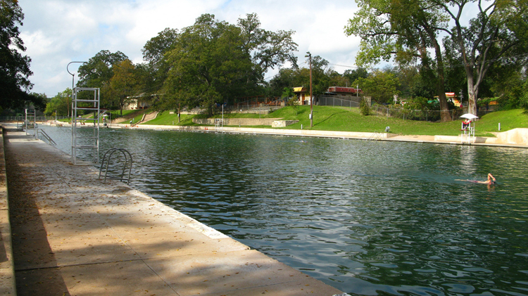 barton springs pool swim swimming spring summer water