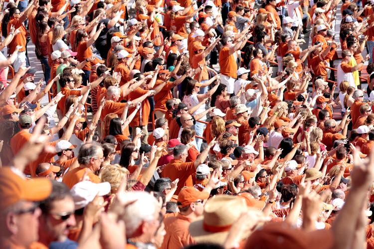 university texas ut tower football hook em horns