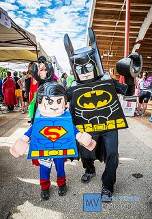 lego superman batman spiderman family