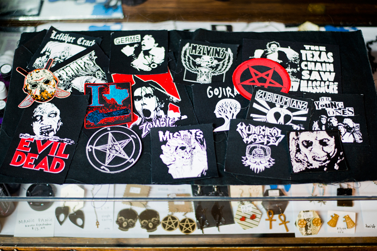 patches bands zombies walking dead gore horror halloween