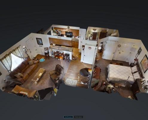 virtual tour of Park Ridge Apartments in Llano, TX