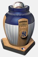 Baseball-Urne