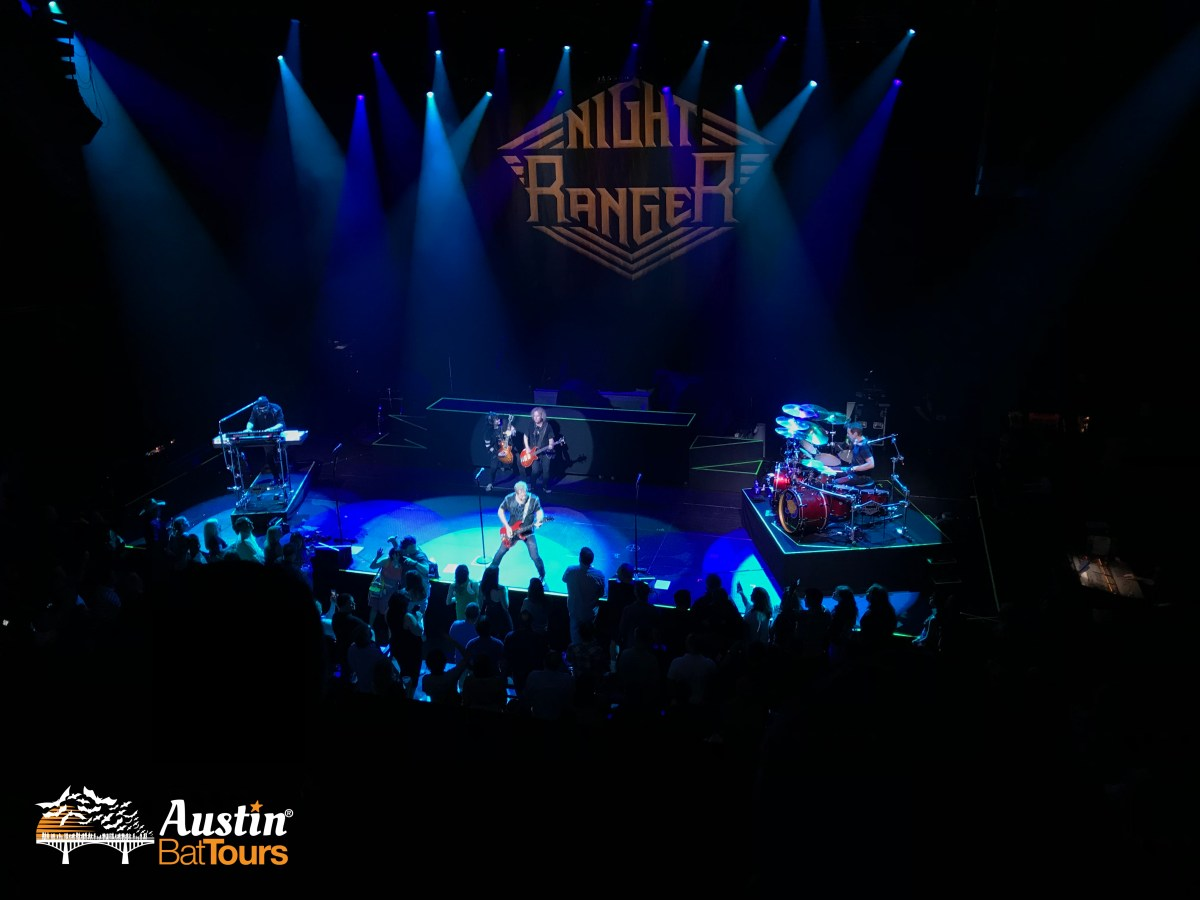 Night Ranger in concert at ACL Live, Austin, Texas.
