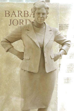 Barbara Jordan statue, Austin Chronicle hoto