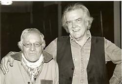 Déjà vu again: Guy Clark and Ramblin' Jack Elliott at the Cactus Cafe, 2004