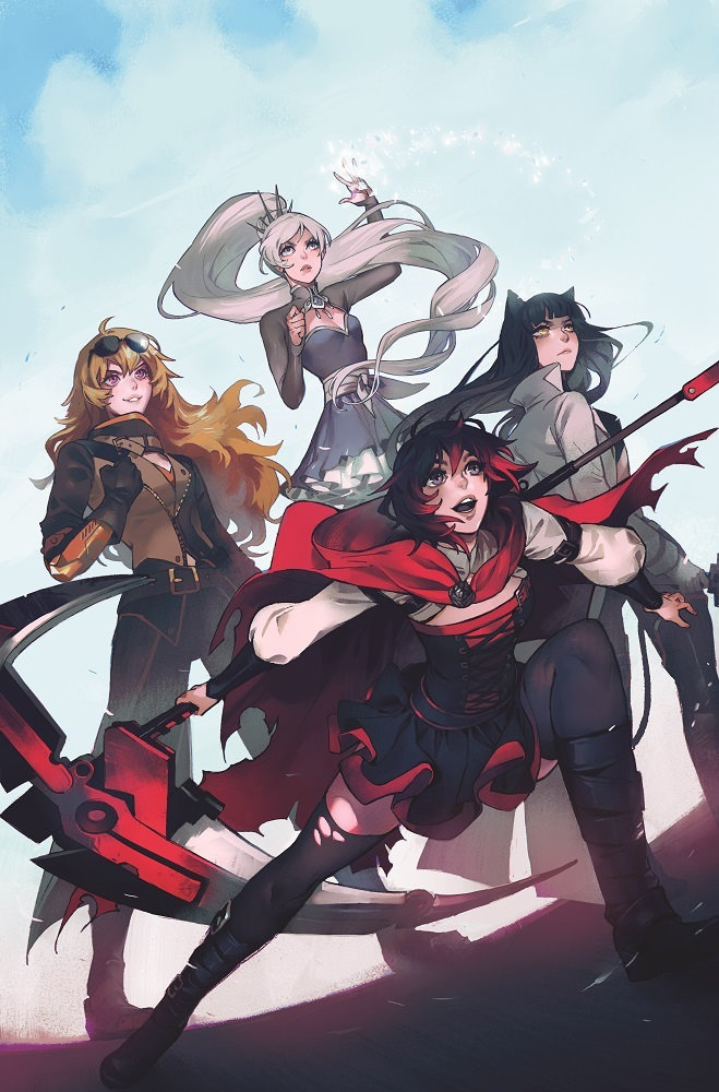 DC Announces GenLOCK RWBY Comic Details At RTX Creative Teams Confirmed Plus First Cover