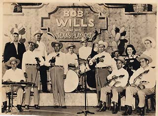 Bob Wills and the Texas Playboys at Casa Mana, California, 1943
