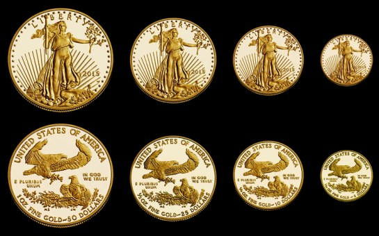 Proof Gold American Eagles