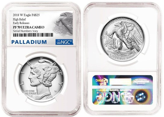 After much anticipation, the 2018 Proof Palladium American Eagle is now available!