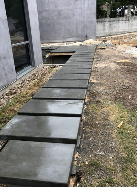 Concrete Steps - Violet Crown Concrete and Staining