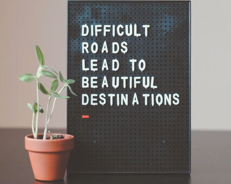 avoiding comfort is the key to constant growth.