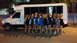 bachelorette party bus rental in Austin