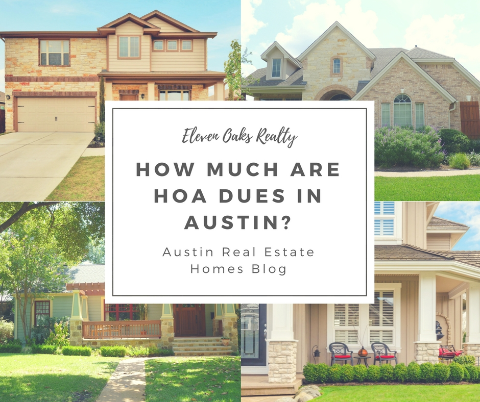how much are hoa dues in austin