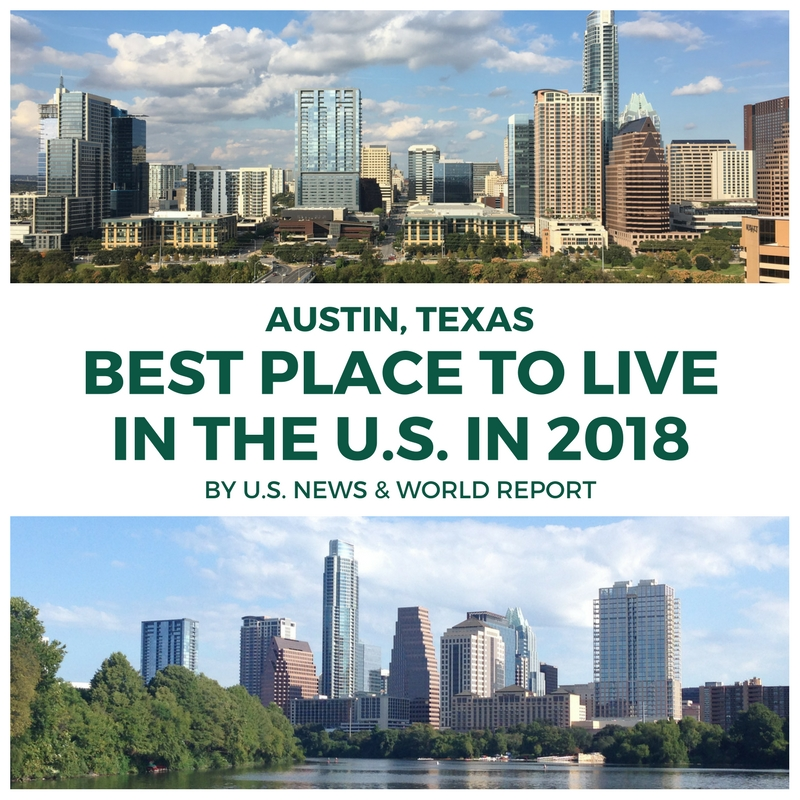 austin best place to live in u.s. in 2018