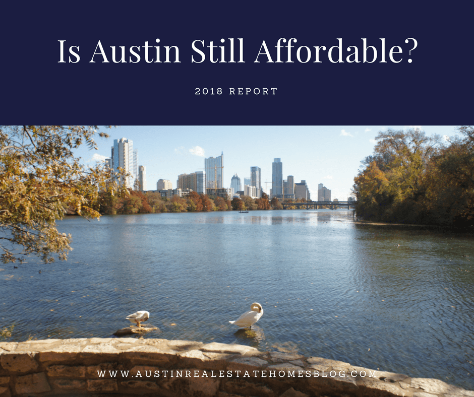 austin still affordable 2018 report