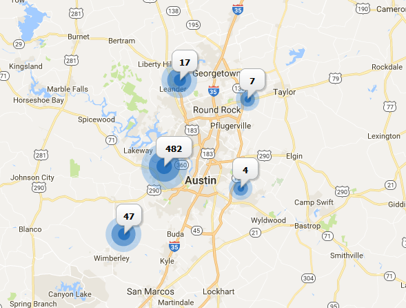 luxury homes for sale in austin area October 2017