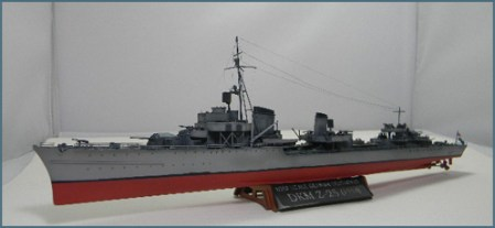 Model Ship Basics   A Building Guide  by Rick Herrington  Austin     If you re just starting out building ship kits  you may want to tackle a  less complex model than the Trumpeter Z 25 depicted here  Any one of  Tamiya s 1 700