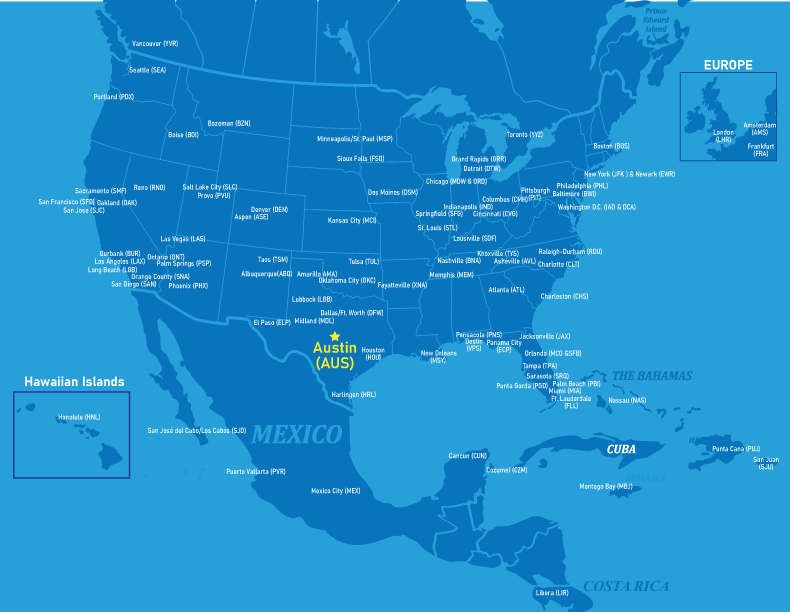 Airport United Denver Map