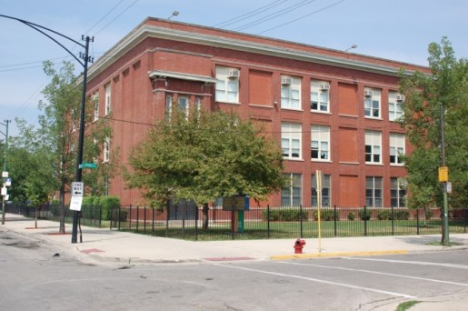 REDEVELOPMENT AFOOT: The Westside Health Authority, which pruchased the building that once housed Emmett school, has unveiled possible redevelopment options for the building, below right. | File photo