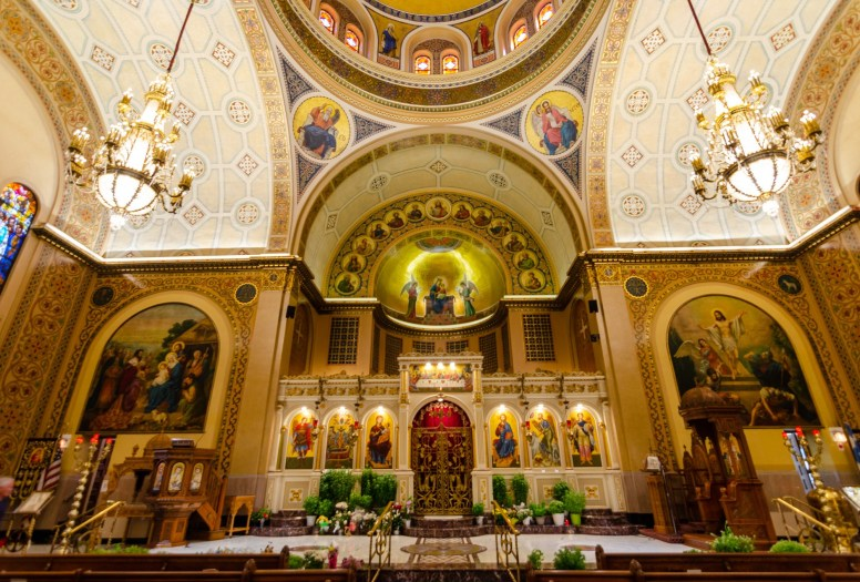 OPENING UP: Assumption Greek Orthodox Church, 601 S. Central Ave., is one of the Austin buildings on this year's Open House Chicago architecture tour. | Photo by Eric Allix Rogers