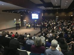 ALL HANDS ON DECK: More than 250 people packed the auditorium at Michele Clark High School on Saturday for the unveiling of Austin's quality of life plan. The plan, which now must be put into action, includes around 400 collaborating entities. | Photo courtesy Austin Coming Together