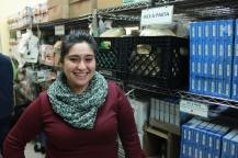 NOW DELIVERING: Adriana Riano, the program manager for the Oak Park River Forest Food Pantry's food delivery program. | Courtesy Oak Park River Forest Food Pantry